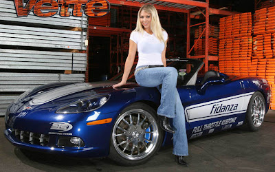 Sexy girls tuned cars tuninger blog - Muscle car girl wallpaper ...