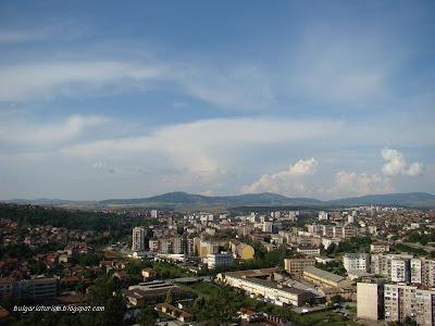 Панорамна снимка на Перник