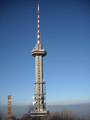 Телевизионната кула на Копитото, Витоша