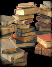 Piles & Piles of Mini Books found in hidden crannies & darkened nooks