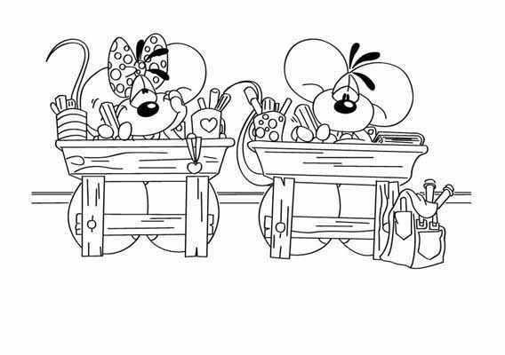 Kleurplaat Nieuw Schooljaar 5de Leerjaar De Wimpel De Start Van Een Nieuw Schooljaar