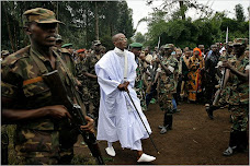 General Nkunda's wars supported by Kagame through the British Budget support.