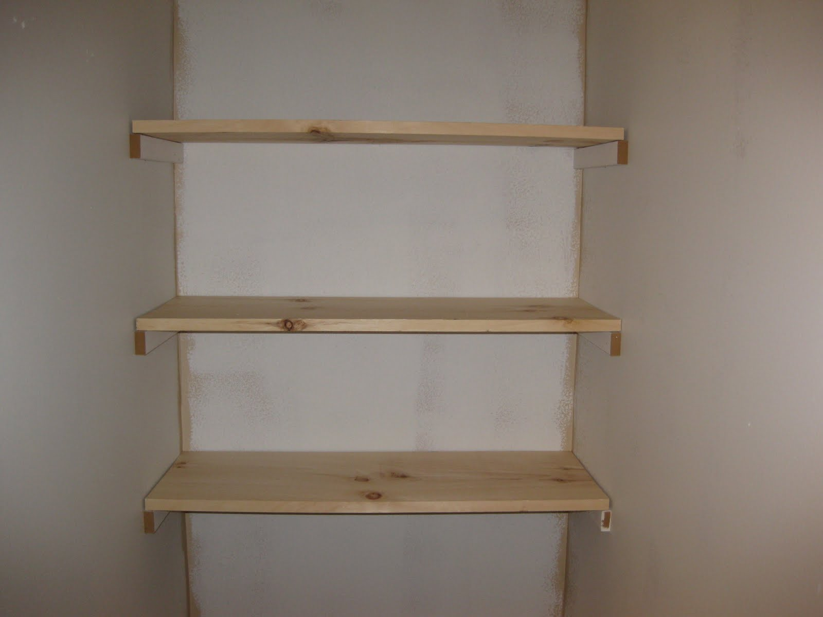 The Hand Me Down House Built In Shelves