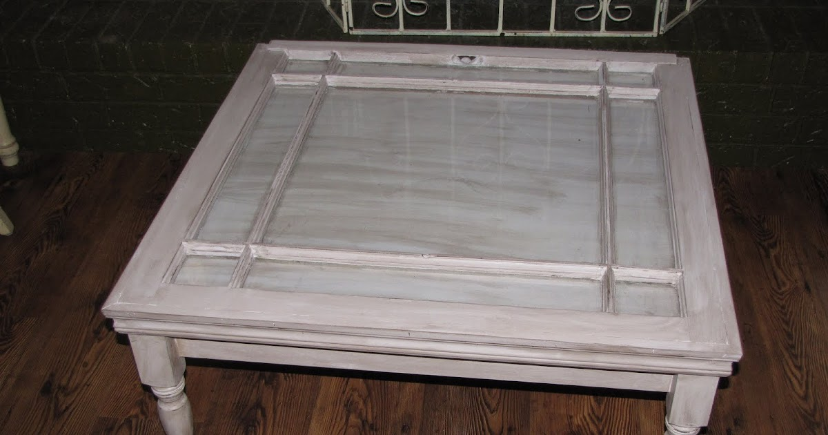 Frogs to Fairy Dust: OLD WINDOW COFFEE TABLE - UPDATE