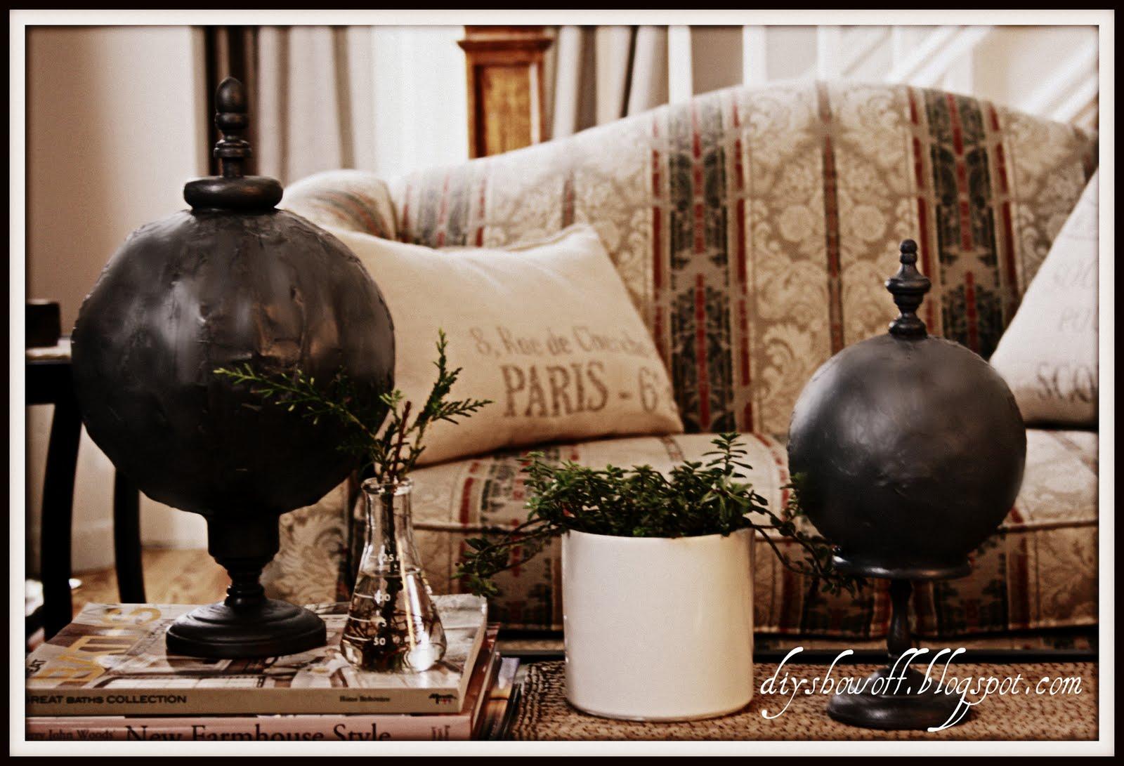 Decorative Spheres Diy Show Off Diy Decorating And