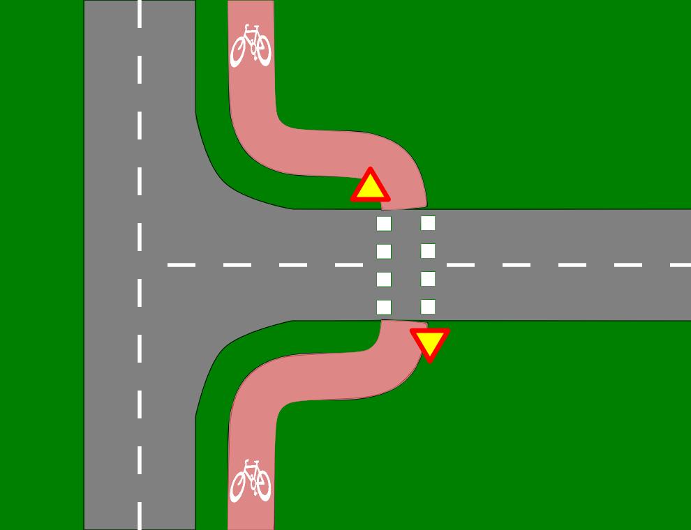 tieliikennelaki väistämisvelvollisuus risteyksessä