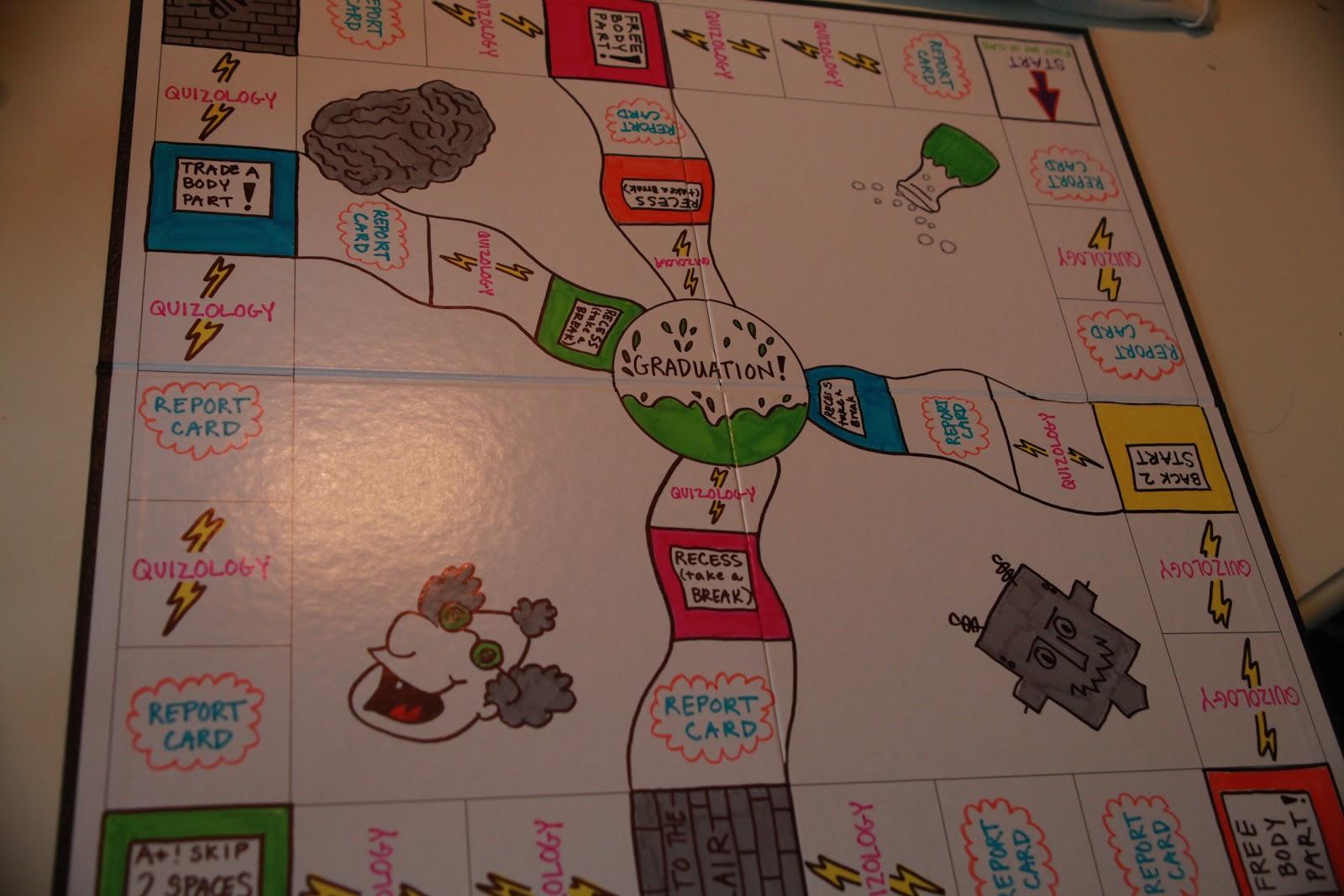 Homemade Board Games