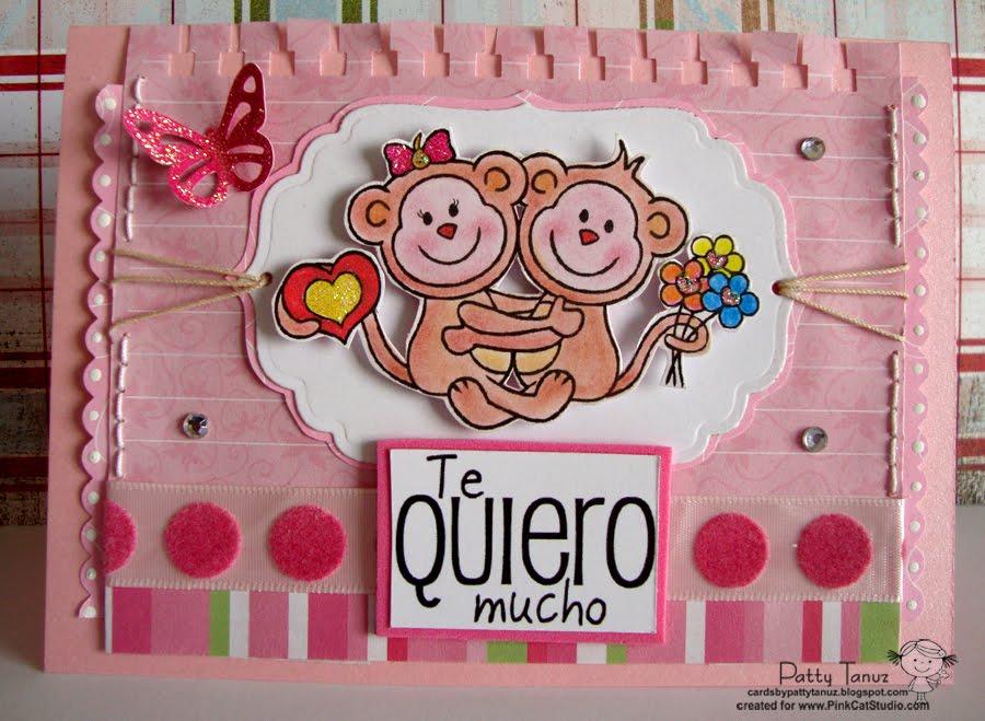 Cards By Patty Tanúz Changuitos Enamorados Dt Pcs