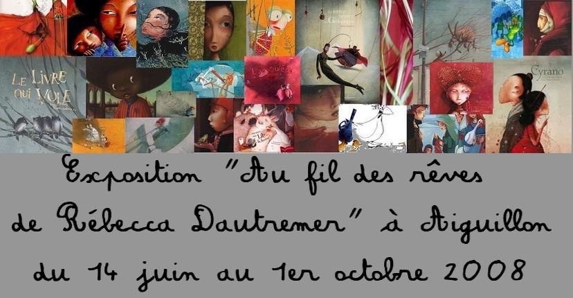 Exposition Rebecca Dautremer à Aiguillon (47)