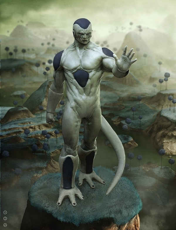 Frieza realistic - Dragon Ball Z