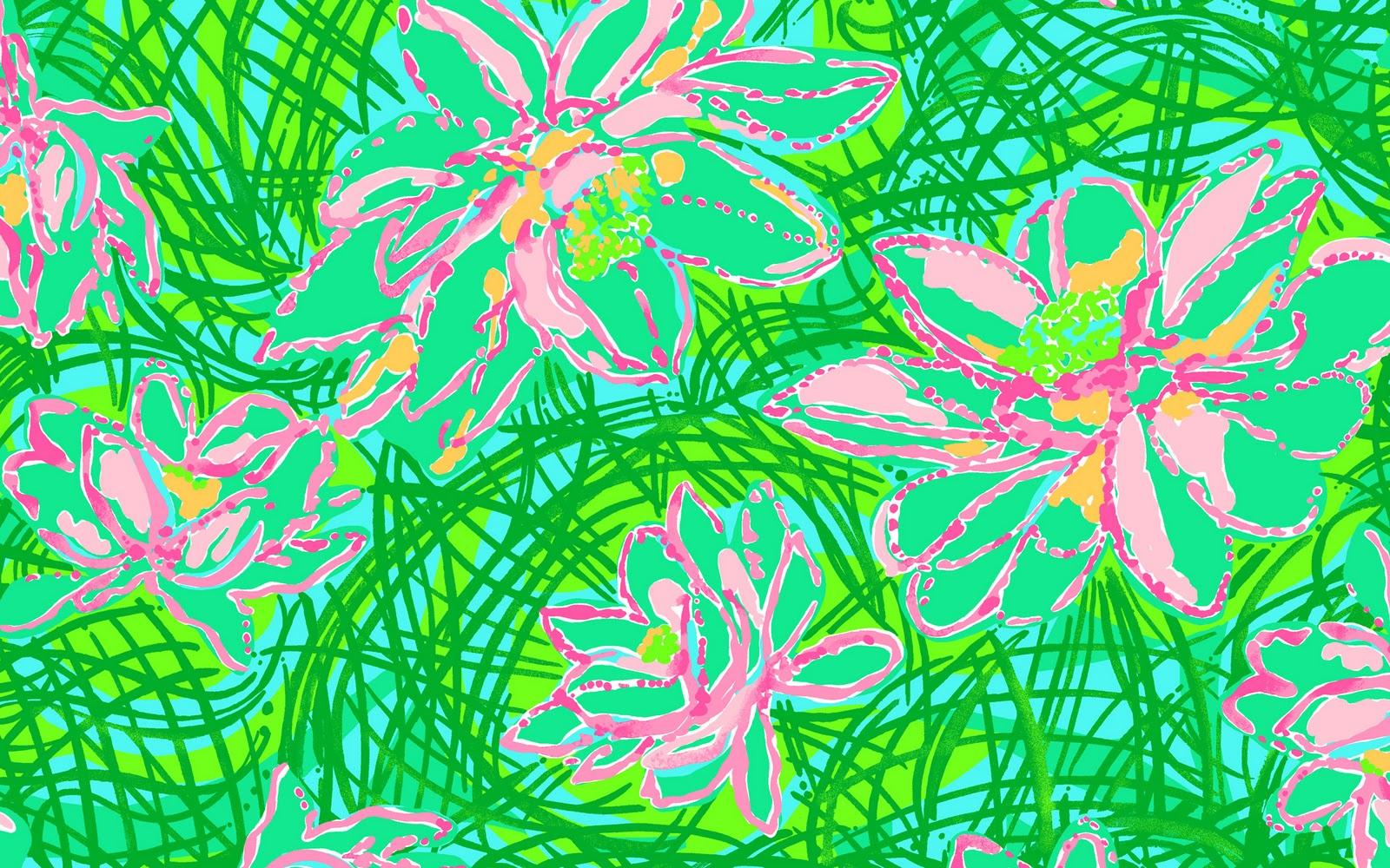 Lily Pulitzer Starbucks Canadianprep Lilly Desktop Wallpaper
