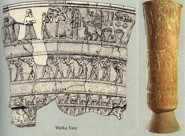 Image result for warka vase