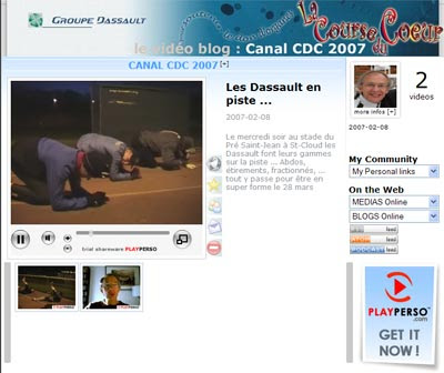 Course du coeur - Groupe Dassault
