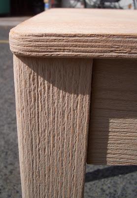 Sehr Sandstrahlen mitten in Berlin: Stühle aus Buchenholz sandstrahlen BJ88