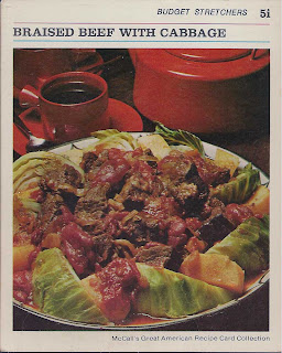 Rochelles vintage and frugal recipes braised beef with cabbage i have quite a few retro recipe card sets some are complete with their boxes and others are partial there are several sites on the internet and flickr forumfinder Gallery