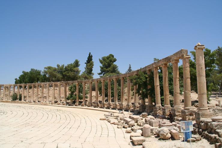 Plaça oval Jerash(Jordania)