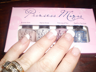 O.P.I Princess minis review