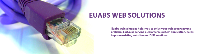 Euabs PHP programming and development