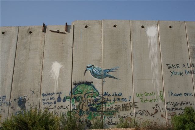 Green Olive Tours Blog Palestine Israel Wall Graffiti In
