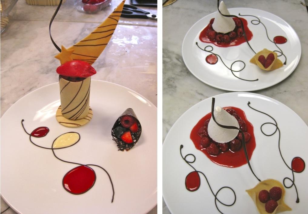 Cake Plating Designs