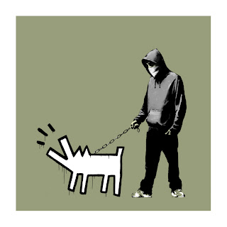 Banksy Choose Your Weapon Print Olive