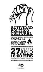 ACTO POLITICO CULTURAL UTEM