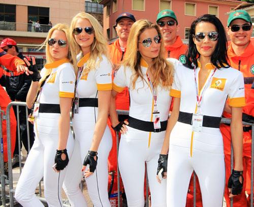 Formula 1 Girl Wallpaper F1 Paddock Girls Pics 2010 Monaco Gp