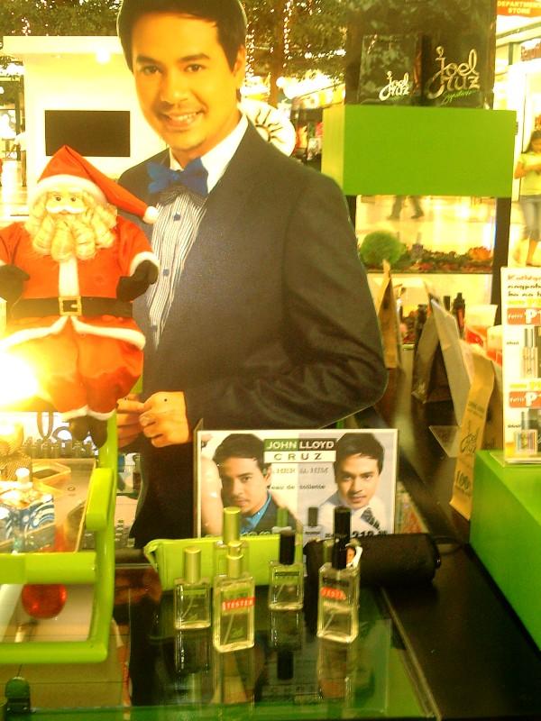 Joel Cruz S John Lloyd Cruz Perfume The Products Blog