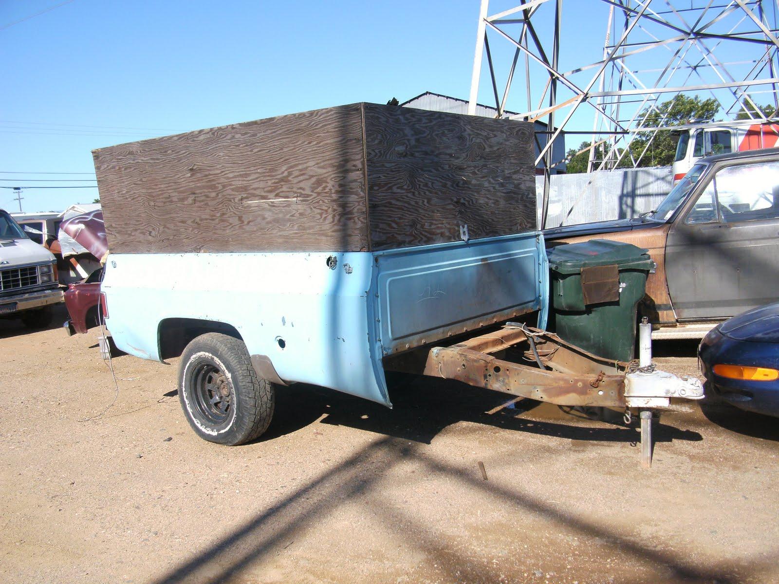 Pickup Bed Trailer. Ford F150 Flareside Model Truck Bed ...