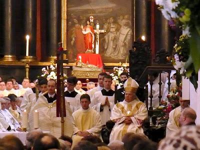 msza katedra oliwska