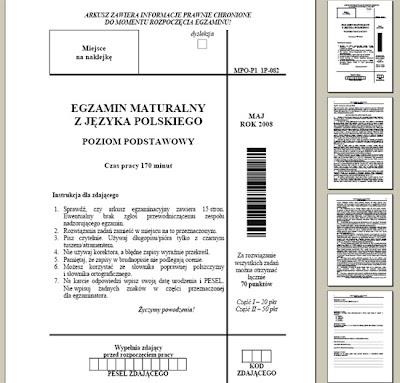 egzamin maturalny 2008 język polski