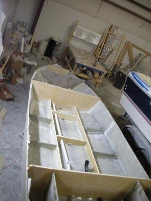 Custom Flats Boat Build February 2011