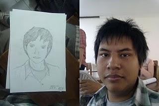 fariable: Sketsa Wajah Mahasiswa
