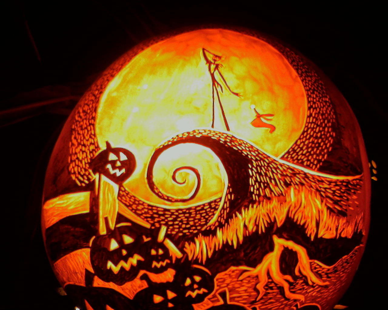 The Nightmare Before Christmas Pumpkin Ideas