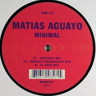 Matias Aguayo - Minimal