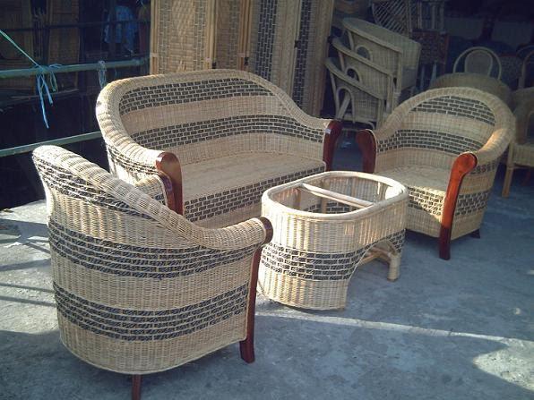 Kursi Tamu Istana Rotan Jogja Furniture Craft Order