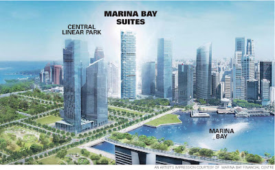 Marina Bay Suites: sweet interest in these suites