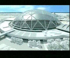 """""""Cool Dome"""" Design Wins Singapore Sports Hub Project"""