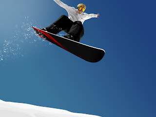 3D Snowboarding wallpaper
