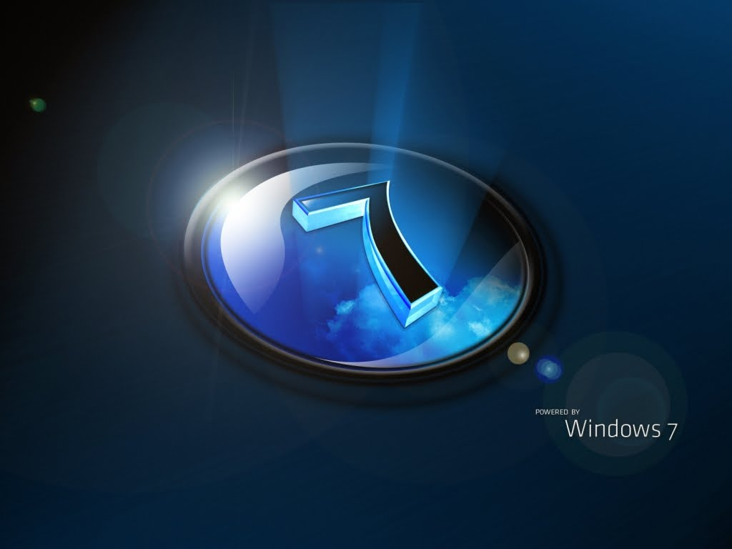 Download Wallpapers Windows 7 4k Se7en Blue Background: Windows 7 Blue Wallpaper