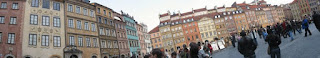 Warsaw Old Town panorama