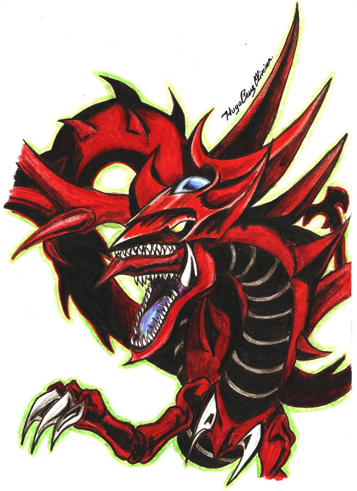 The Best Wallpaper Collections Slifer The Sky Dragon