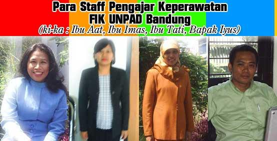 Para Staff Pengajar Keperawatan FIK UNPAD