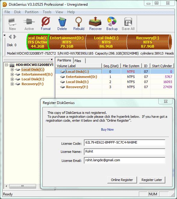 OBIUKWU BLOGSPOT: DISK GENIUS V3 3 0525 PARTITION