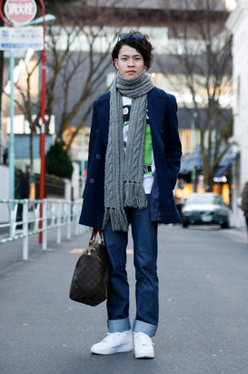 Street Style by Japanese Guys
