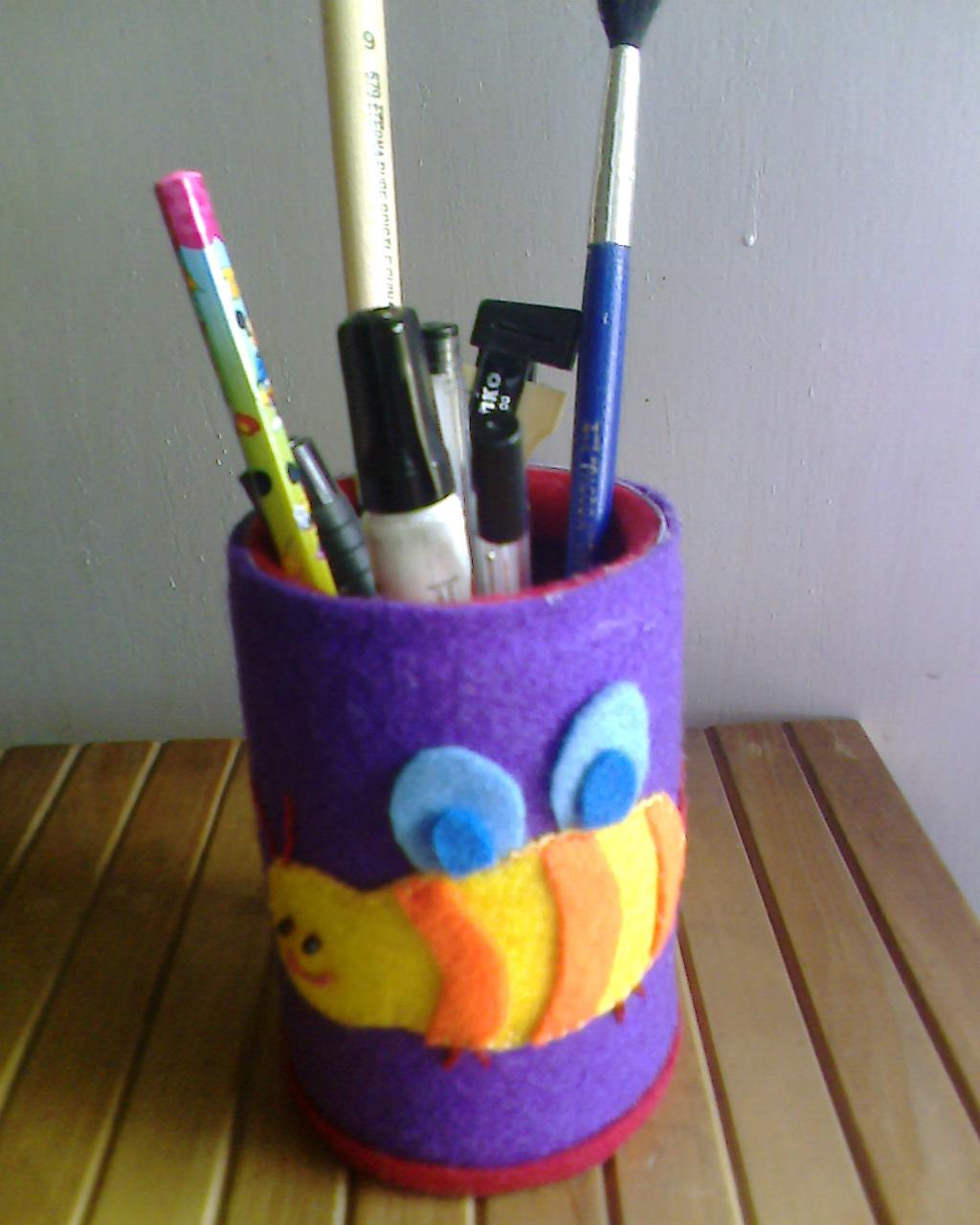 Tempat Pensil Dari Botol Bekas : tempat, pensil, botol, bekas, November, Duniasepti