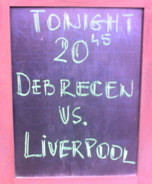 Debreceni Vasutas Sport Club v Liverpool FC