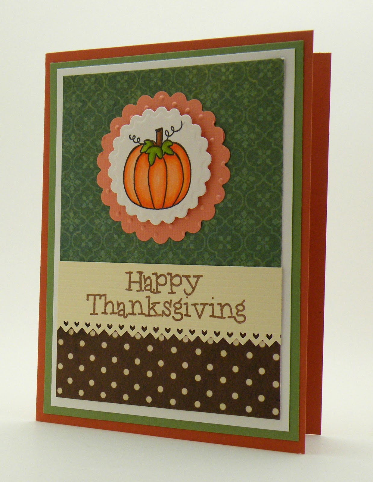 Stampin Up Thanksgiving Cards.Thanks Giving Cards