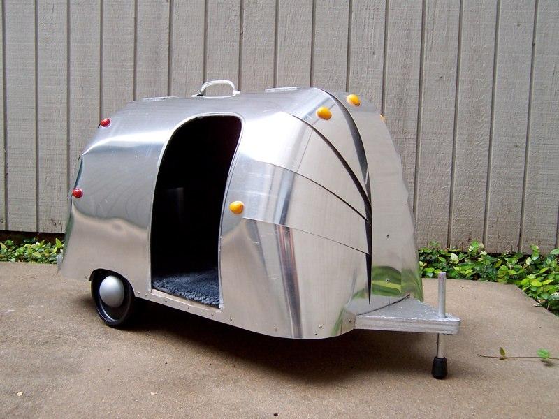 hum airstream bird dog house. Black Bedroom Furniture Sets. Home Design Ideas