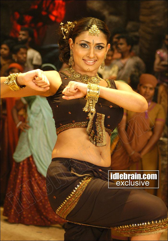 Hot Item Girls Tamil Item Girl Malavikas Spicy Navel Show-2854